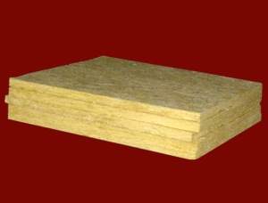 Application of rock wool insulation